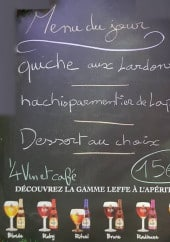 Menu Le P'tit Basque - Exemple de menu