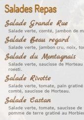 Menu Au Vieux Comtois - Les salades repas