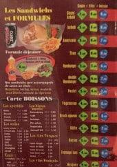 Menu Dilan Kebab - Les sandwiches, formules et boissons