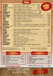 Menu Le Fourneau - Pizzas, salades, spécialités