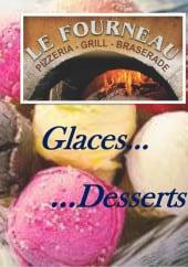 Menu Le Fourneau - Carte et menu glaces et desserts Le Fourneau Pont de Roide