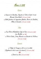 Menu La Bonne Auberge - Menu à 32€