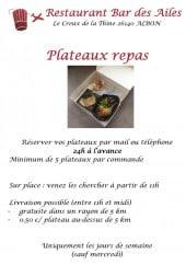 Menu Bar des Ailes - Carte et menu bar des ailes albon