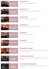 Menu Gambas Royal - Les menus