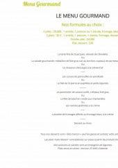 Menu Le Grill Gourmand - Le menu gourmand