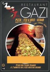Menu Restaurant Gazi - Carte et menu Restaurant Gazi Evreux
