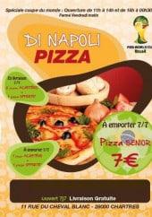 Menu Di napoli pizza - Carte et menu Di napoli pizza Chartres