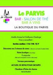 Menu Le Parvis - Carte et menu Le Parvis Chartres