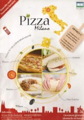 Menu Pizza Milano - Carte et menu Pizza Milano Chartres