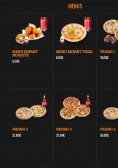 Menu Pizza Andiamo - Les menus