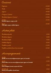 Menu Al Kasbah - les couscous et autres plas, Accompagnements