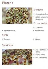 Menu Hot Pizza - la carte du Hot Pizza brest