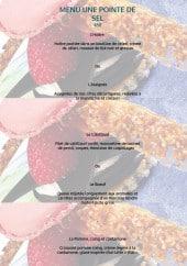 Menu Bistrot 1954 - Le menu à 45€