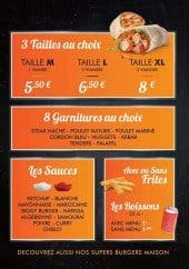 Menu Mac Tacos - Tacos, sauces, frites,...