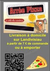 Menu Arrée Pizza - carte et menu arrée pizza landivisiau