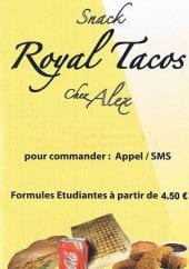 Menu Royal Tacos - La formule étudiant