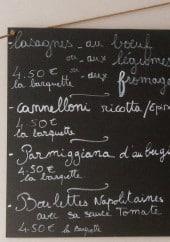 Menu La cantine d'Anna - Exemple de plat a emporter