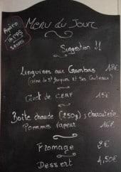 Menu Le Bistrot - Un exemple de menu du jour