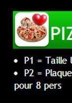 Menu Pizza Di Pierro - pizzas du mois