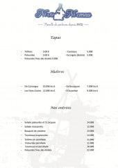 Menu Ni vu ni connu - Les tapas, huîtres et entrées