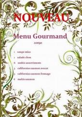 Menu Tsing Tao - Le menu gourmand