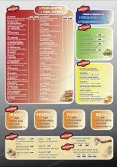 Menu Atelier Pizza - Les pizzas, menus,