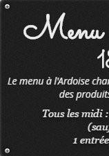 Menu Auberge Restaurant l' Amandin - Le menu à l' Ardoise