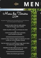 Menu Auberge Restaurant l' Amandin - Le menu des Terroirs et le menu Gourmands