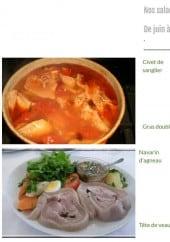 Menu Le Gardechois - Les salades repas du mois