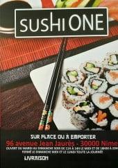 Menu SusHi One - Carte et menu SusHi One à Saint Cesaire