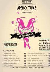 Menu Le Papagayo - Tapas