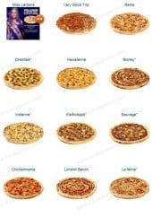 Menu Pizza Pas Cher - Les pizzas