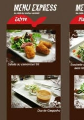Menu Rocher des Pirates - les menus Express