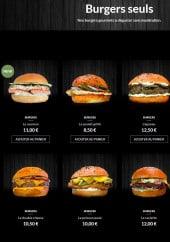 Menu Burger-POP - Les burgers