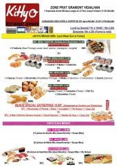 Menu Kihyo - Les menus midi