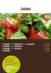 Menu Springtime - Les salades