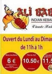 Menu Ali baba - Carte et menu Ali baba Aucamville