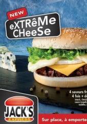 Menu Jack's Express - carte et menu jack's express