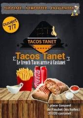 Menu TacosTanet - Carte et menu TacosTanet Castanet Tolosan