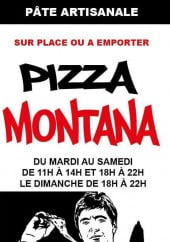 Menu Pizza Montana - Carte et menu Pizza Montana Eaunes