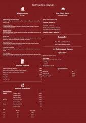 Menu Der Apfelstrudel - Gâteaux, plats salés, formules,...