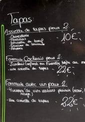 Menu Friendly Auberge - Les tapas et formules