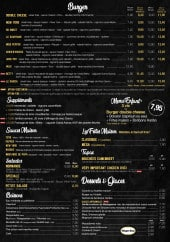 Menu Ô fait maison - Burgers, salades, desserts et boissons