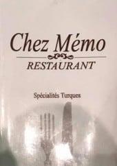 Menu Chez memo - Carte et menu Chez memo, Bordeaux