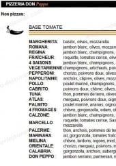 Pizza Peppone Bordeaux Carte.Carte Peppone Bordeaux Cosprocare