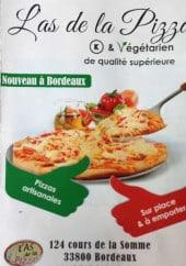 Menu L'As de la Pizza - Carte et menu L'as de la pizza Bordeaux