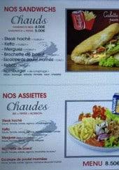 Menu Lotophage - Sandwiches et assiettes