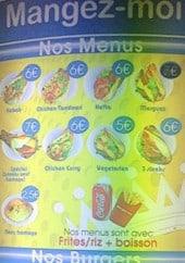Menu Mangez Moi - Les menus et burgers