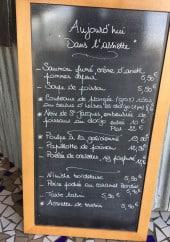 Menu Bonne Mer dans l'Assiette - Exemple de menu
