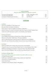 Menu Hôtel Restaurant Claude Darroze - Les apéritifs, les entrées, les viandes ...